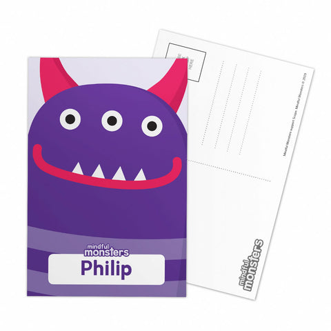 Thinky Personalised Postcard