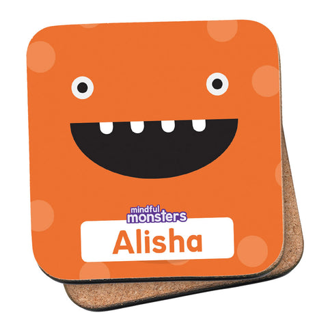 Giggles Personalised Coaster