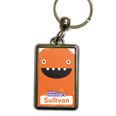 Giggles Personalised Metal Keyring