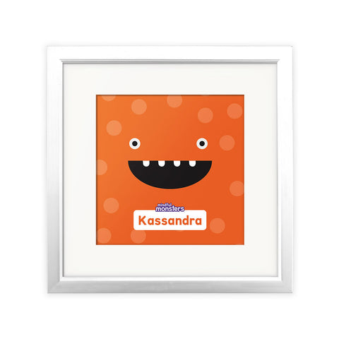 Giggles Personalised Square Print