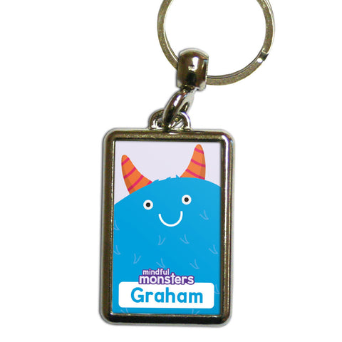 Snug Personalised Metal Keyring