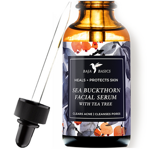 Sea Buckthorn Facial Serum with Tea Tree Oil
