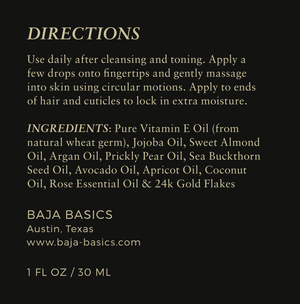Ora Rosa - Gold Infused Radiance Nectar