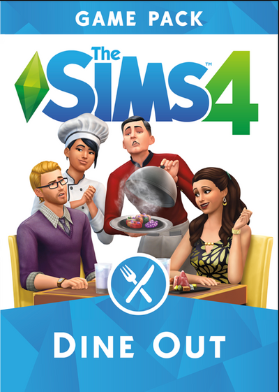 The Sims 4: Dine Out - MyGames - Digital download - Hurtig levering