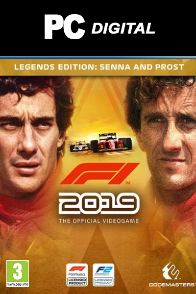 F1 2019 Legends Edition - MyGames - Digital download - Hurtig levering