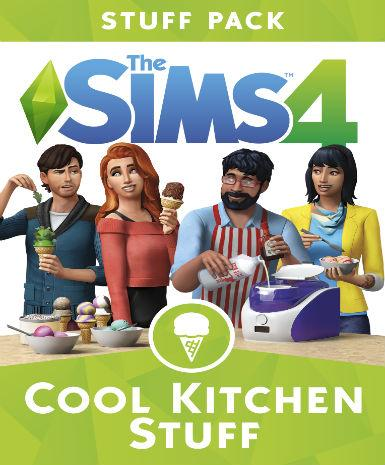 The Sims 4 : Cool Kitchen Stuff - MyGames - Digital download - Hurtig levering