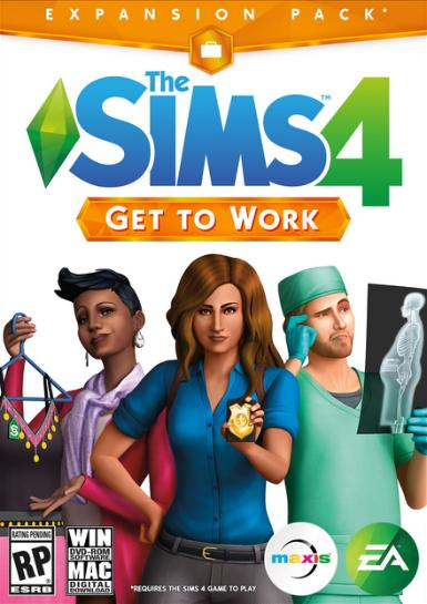 The Sims 4: Get to Work - MyGames - Digital download - Hurtig levering