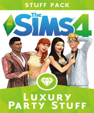 The Sims 4: Luxury Party Stuff - MyGames - Digital download - Hurtig levering