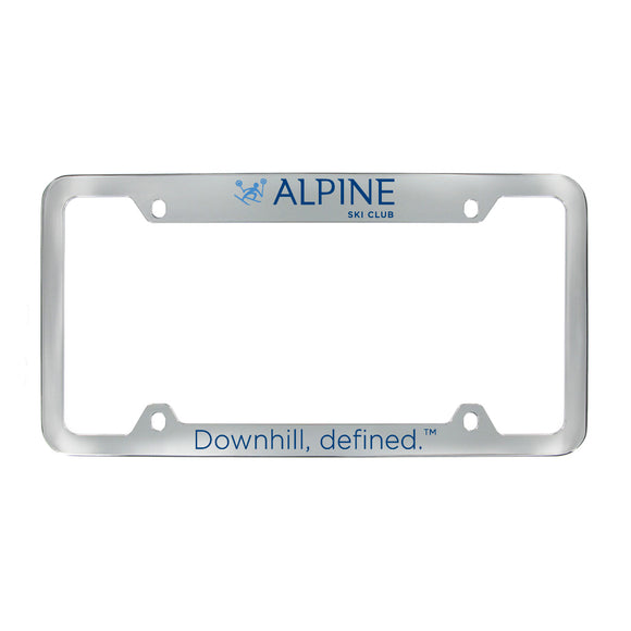 Chrome Plated Zinc Alloy License Frames