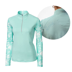 Annika - Ladies Energy 1/2 Zip Long Sleeve