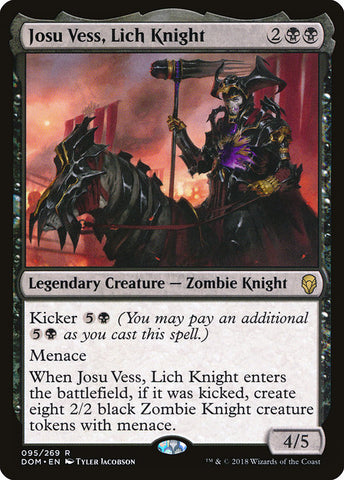Josu Vess, Lich Knight [Dominaria]