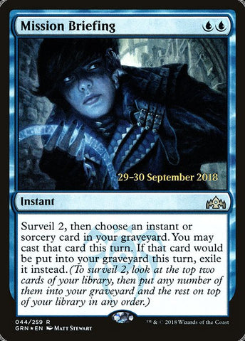 Mission Briefing [Guilds of Ravnica Promos]