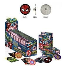 Marvel Jumbo Metal Pin Blind