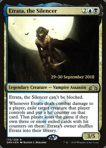 Etrata, the Silencer [Guilds of Ravnica Promos]