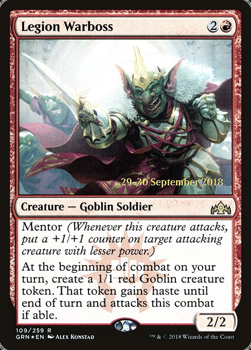 Legion Warboss [Guilds of Ravnica Promos]  | My Pop Culture | New Zealand