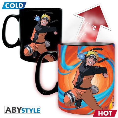 Naruto Shippuden Coffee Mug Heat Change Duel 460 ml