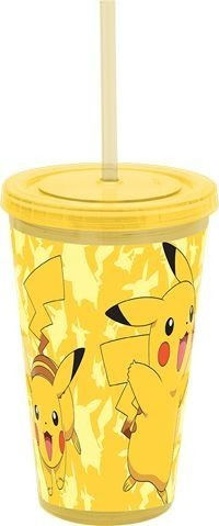 Pikachu Tumbler with Straw | My Pop Culture | New Zealand