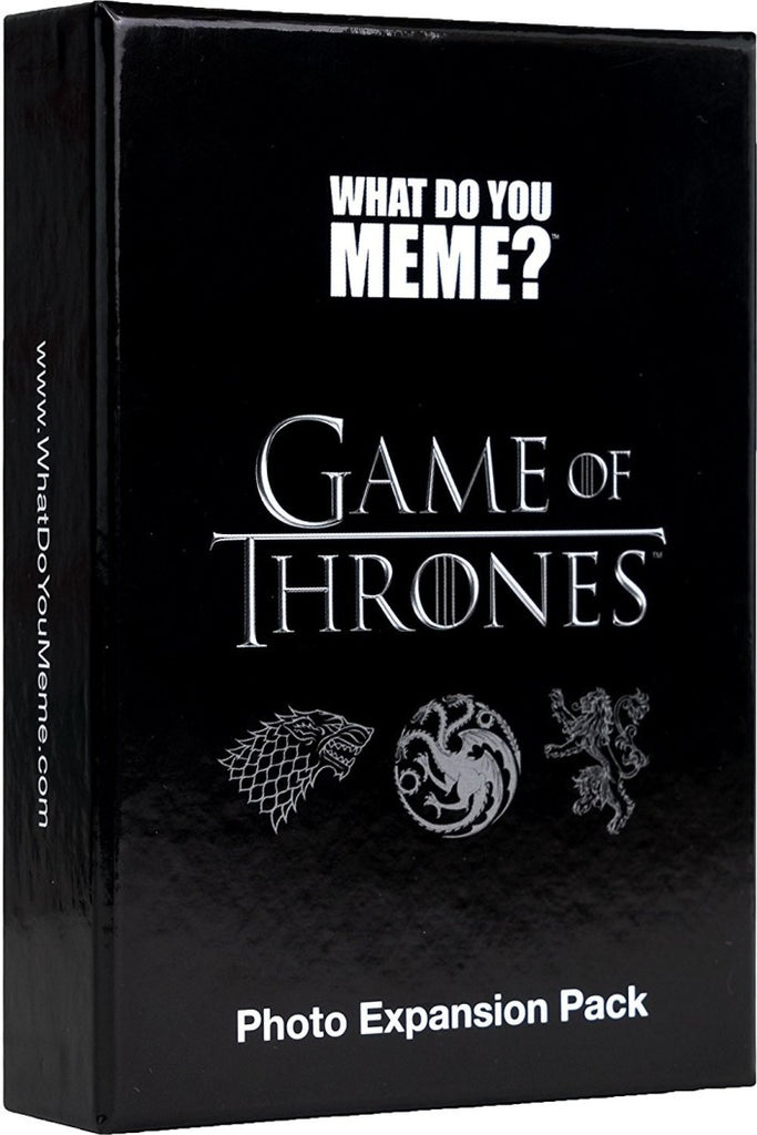 What Do You Meme Game Of Thrones Photo Expansion Pack My Pop Culture