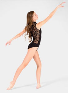 Lace Back Dance Leotard