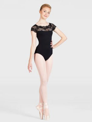 Lace Top Dance Leotard