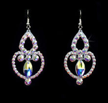 Load image into Gallery viewer, The Jessica Style Swarovski Crystal Earrings