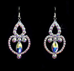 The Jessica Style Swarovski Crystal Earrings