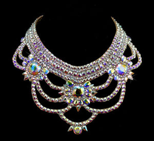 The Victoria Style Swarovski Crystal Necklace
