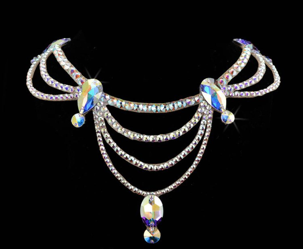 The Laurel Style Swarovski Crystal Necklace