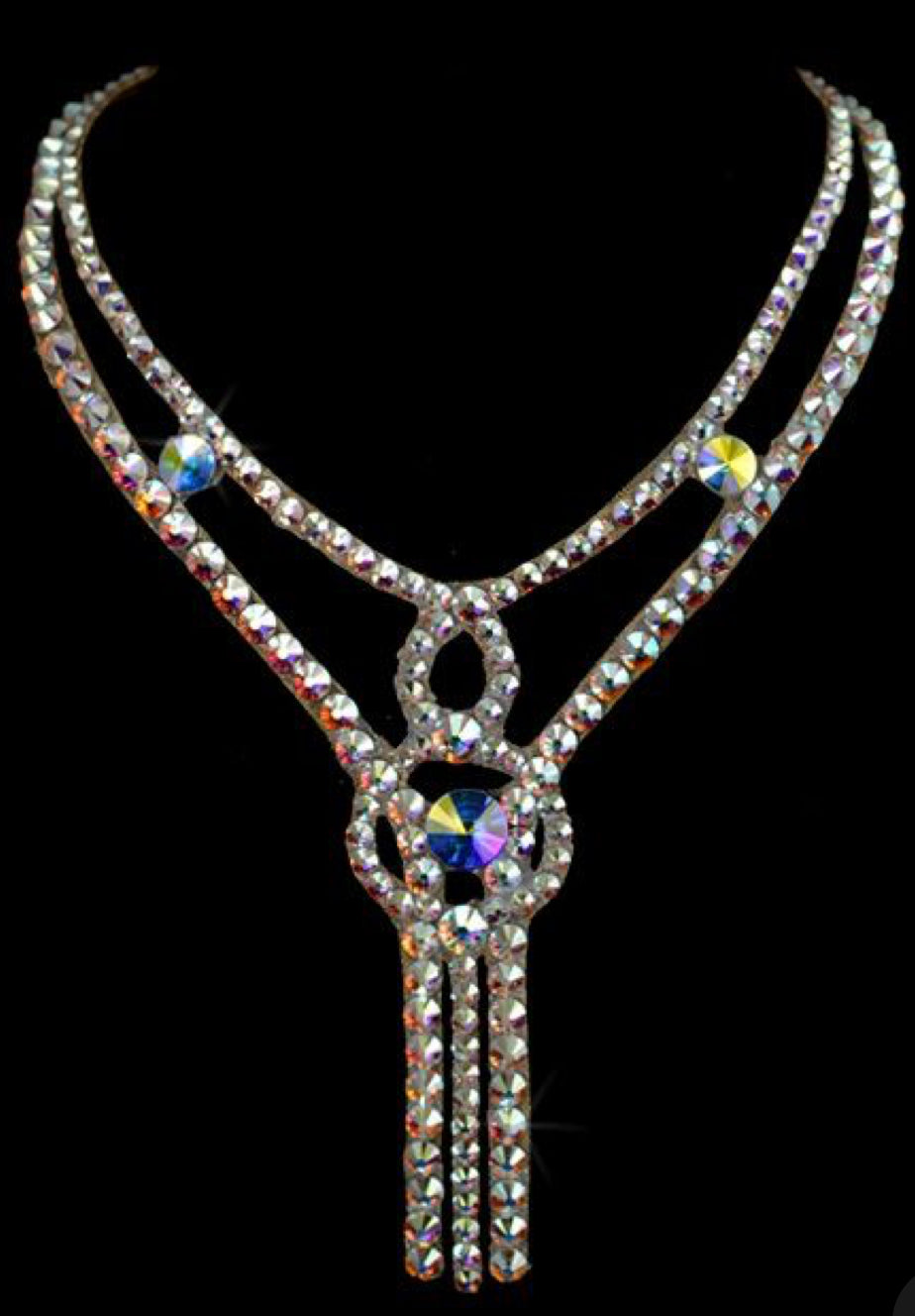The Violet Style Swarovski Crystal Necklace