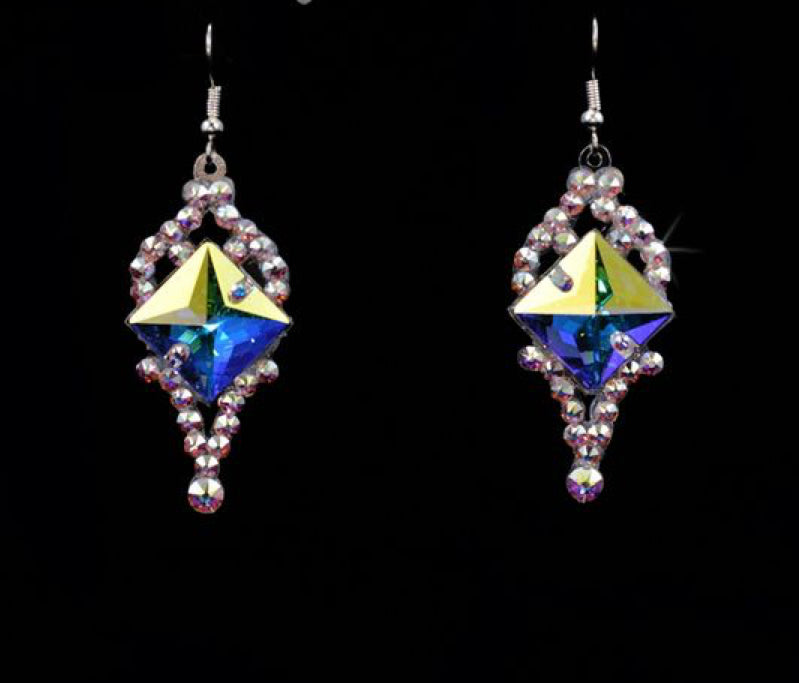 The Carolyn Style Swarovski Crystal Earrings