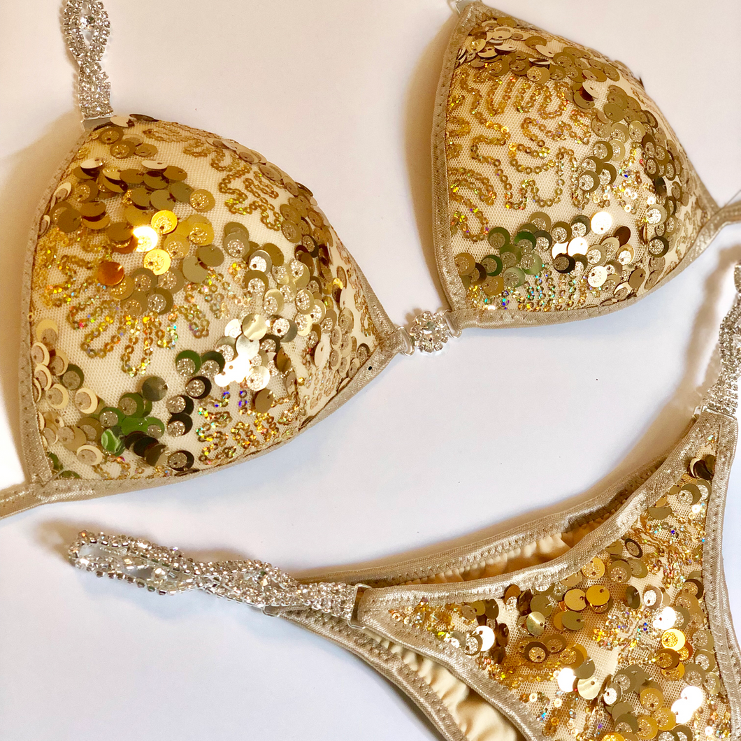 Custom Sequin Competition Bikini