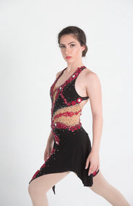 Tango Figure Skating Dress