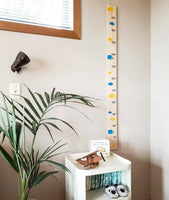 One of a kind height chart , nz made height chart, timber height nz, kids wooden height chart