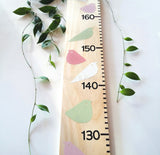 Growth wooden height chart