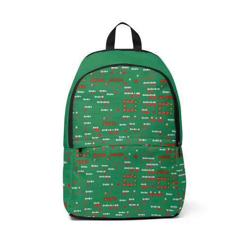 Fractions Unisex Fabric Backpack