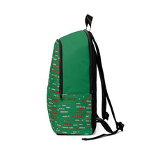 Load image into Gallery viewer, Fractions Unisex Fabric Backpack