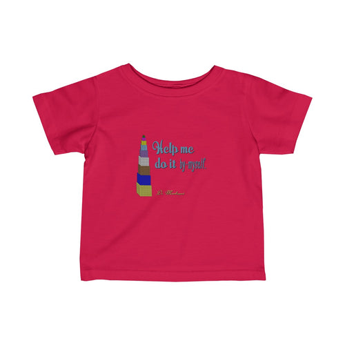 By-myself Montessori Infant Fine Jersey Tee