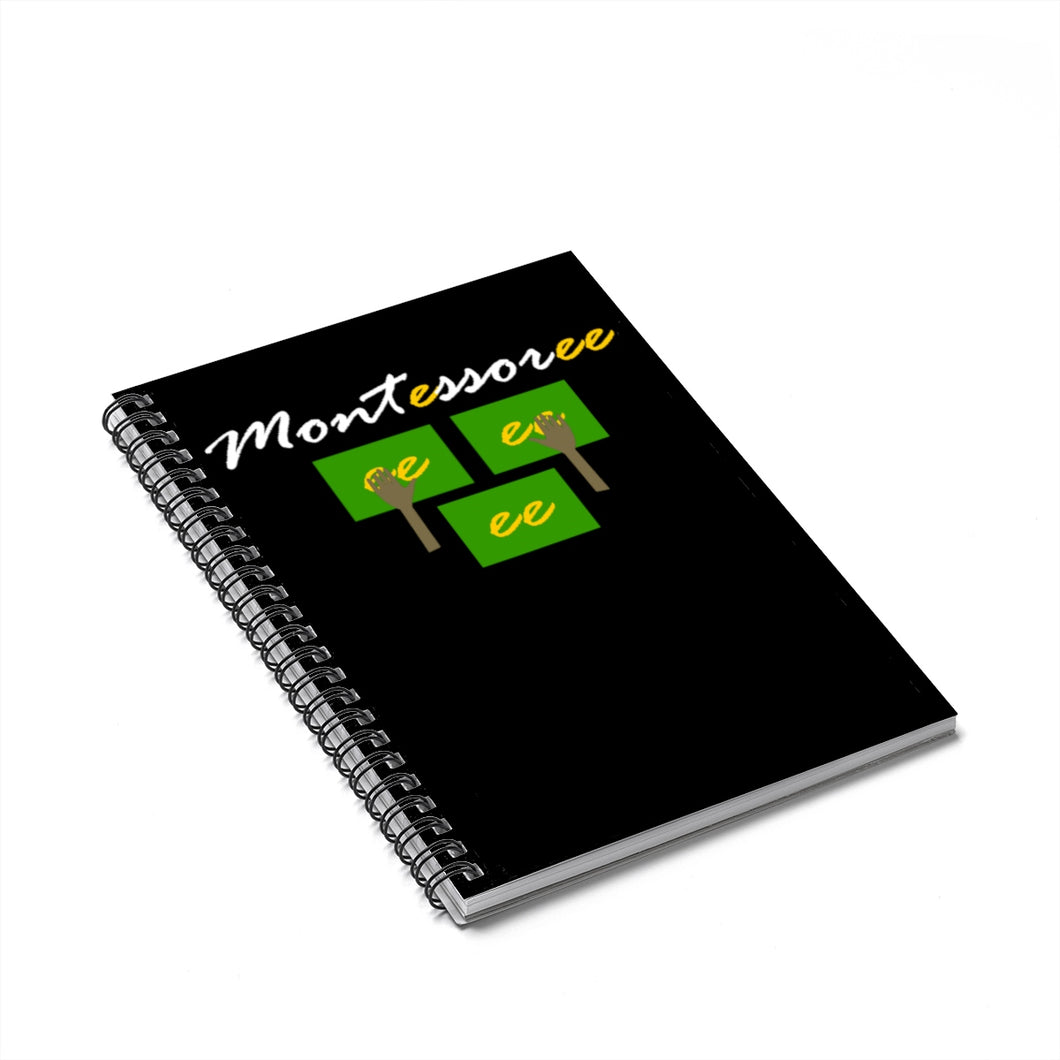 Montessorree Spiral Notebook - Ruled Line