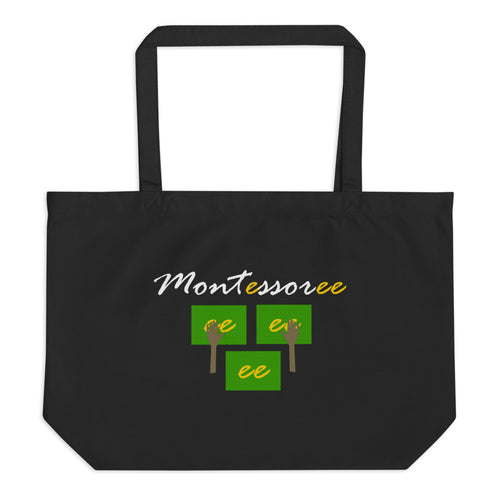 Montessoree Large organic tote bag