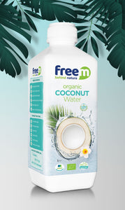 Organic freem Coconut WATER 1000ml x6