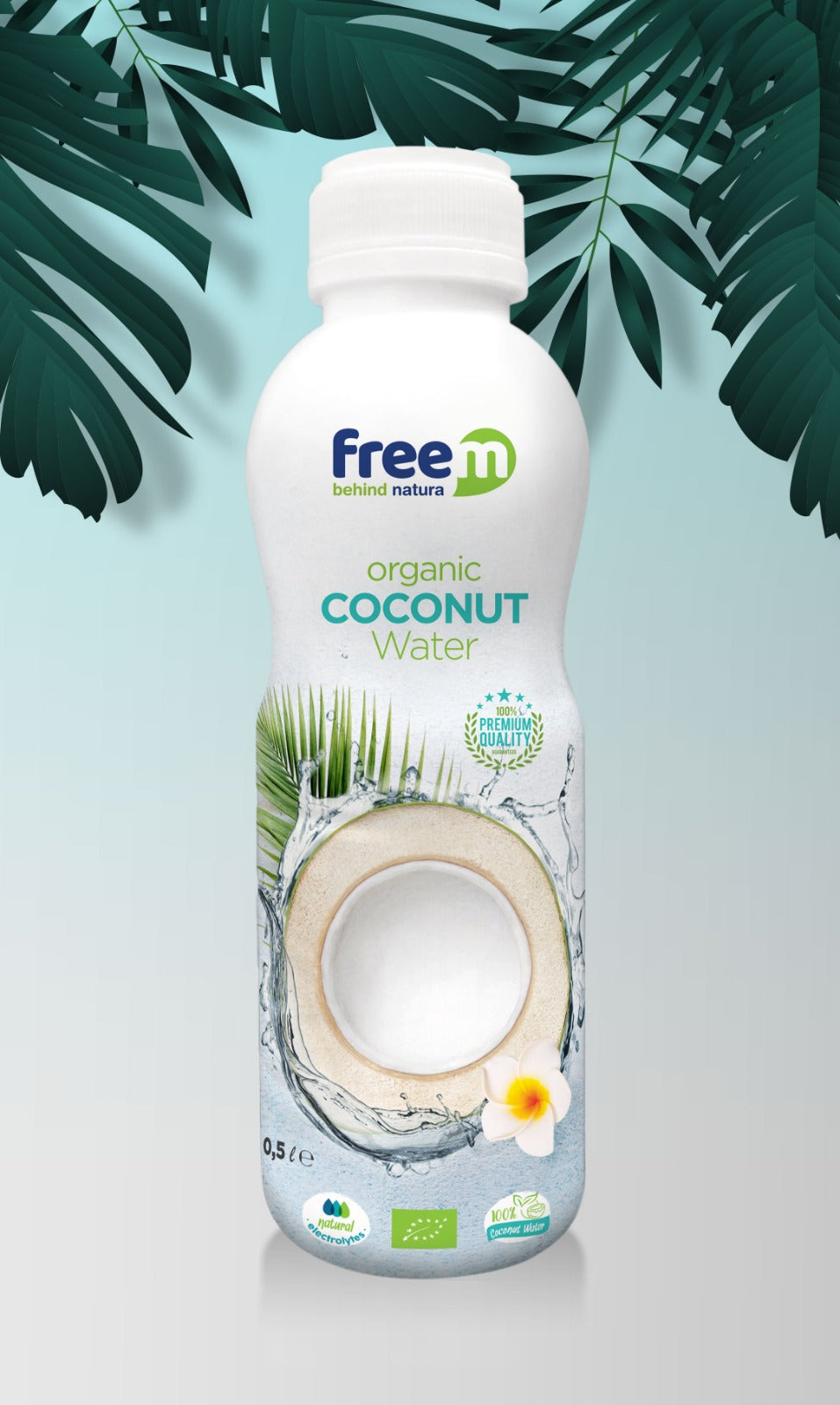 Organic freem coconut WATER 500ml x12