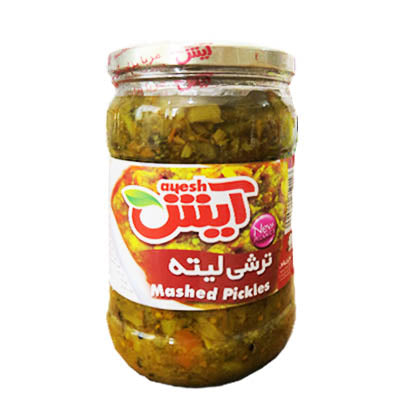Mixed Liteh Pickles ترشی لیته