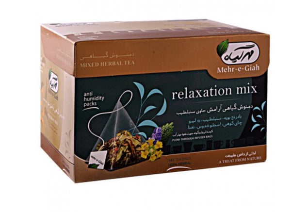 Mehr-e-Giah Relaxation collection دمنوش گیاهی آرامش مهرگیاه⁩⁩