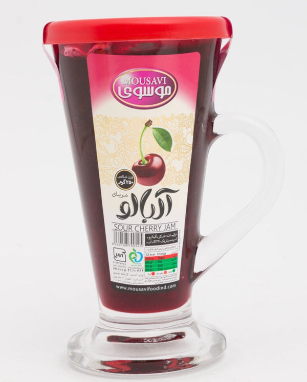 Mousavi Sour Cherry Jam مربا آلبالو