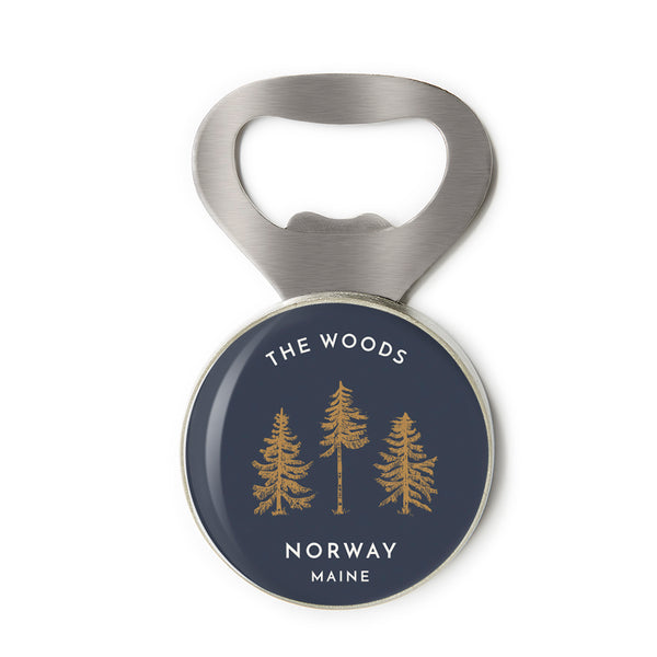 The Norway Maine Bottle Opener by CHART Metalworks