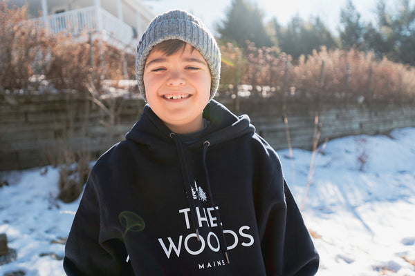 The Woods Maine Youth Lightweight Pullover Hoodie