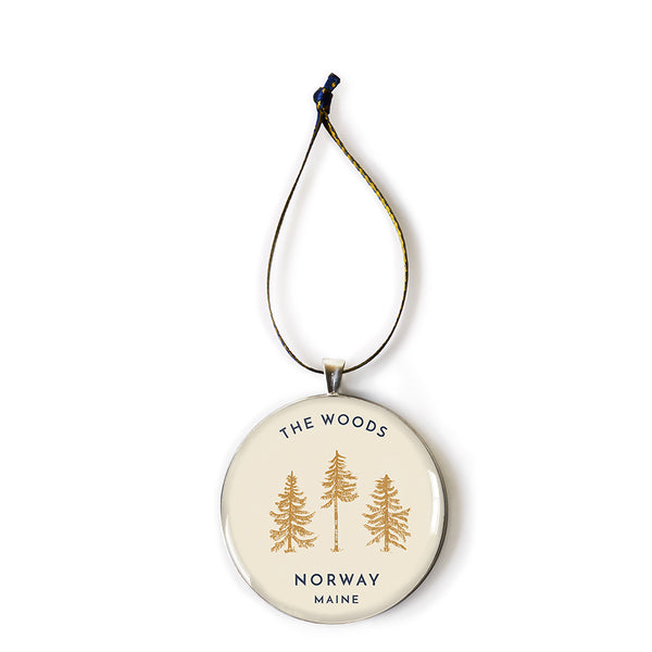 The Woods Maine Keepsake Ornament: Norway, Maine