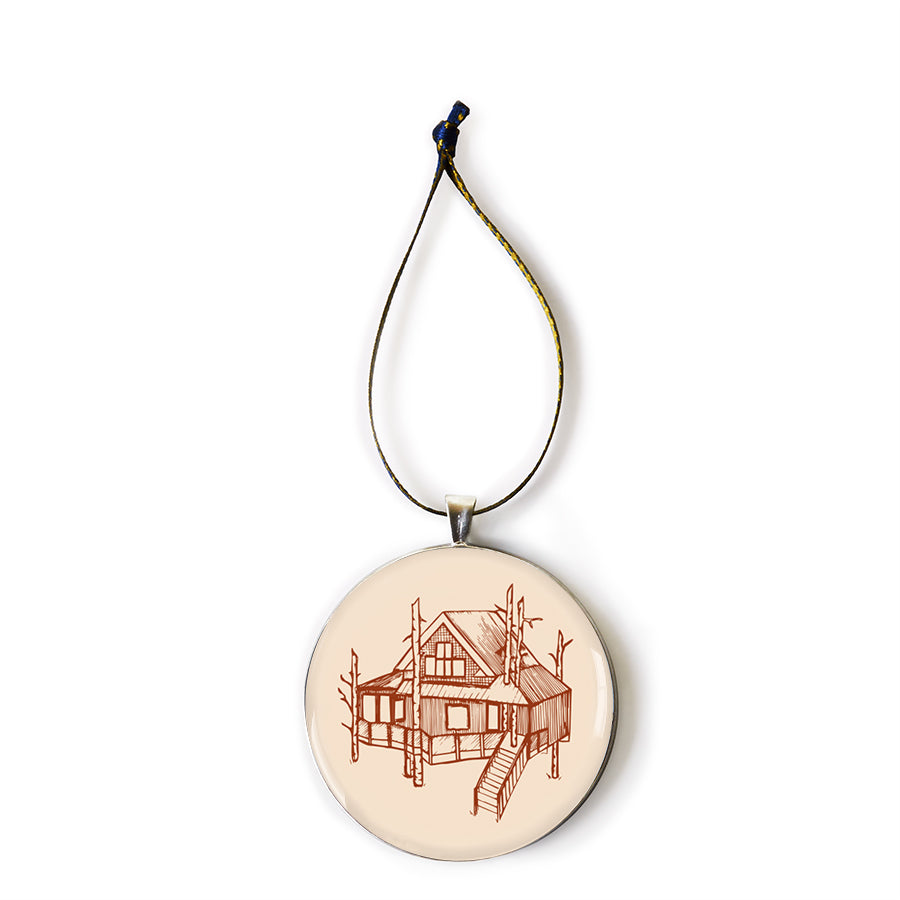 The Woods Maine Keepsake Ornament: The Treehouse
