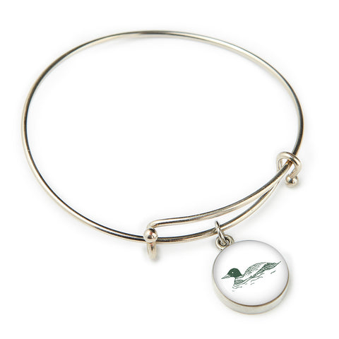 The Woods Maine Pewter Expandable Bangle (5 Designs)