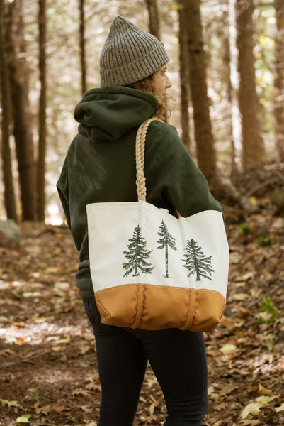 Three Pines Medium Sea Bags® Tote: The Trout